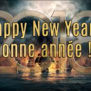 Happy New year 2018! Bonne année 2018 !