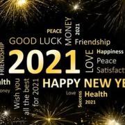 Happy new Year 2021 - Bonne Année 2021 !