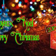 Joyeux Noël 2018 ! - Merry Christmas 2018!