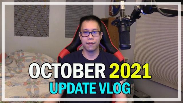 October 2021 - Monthly Update Vlog @Jonlaw98
