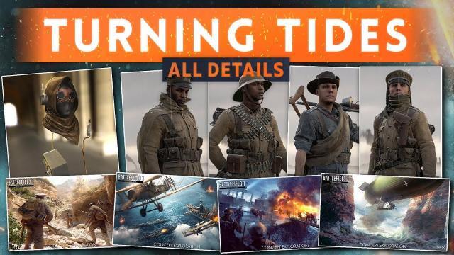 ► ALL DETAILS REVEALED! - Battlefield 1 Turning Tides DLC (New Guns, Vehicles, Elite Class & MORE!)