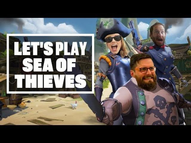 Let's Play Sea of Thieves: KRAKEN OR KRAK-CAN'T? - Sea of Thieves Kraken Gameplay!