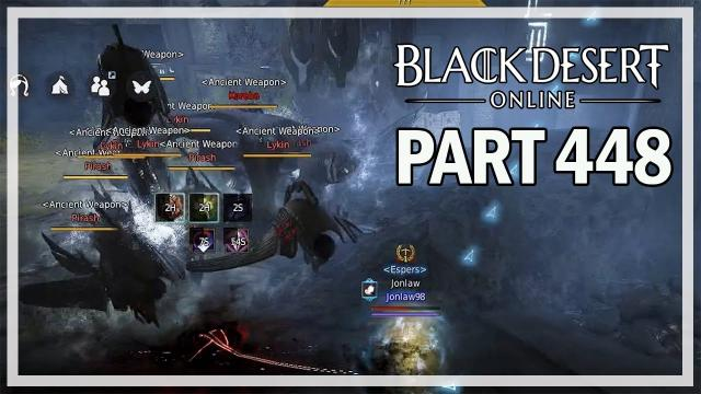 Black Desert Online - Dark Knight Let's Play Part 448 - Sycraia Underwater Ruins
