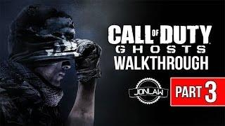 Call of Duty Ghosts Walkthrough - Part 3 STRUCK DOWN - Let's Play Gameplay&Commentary