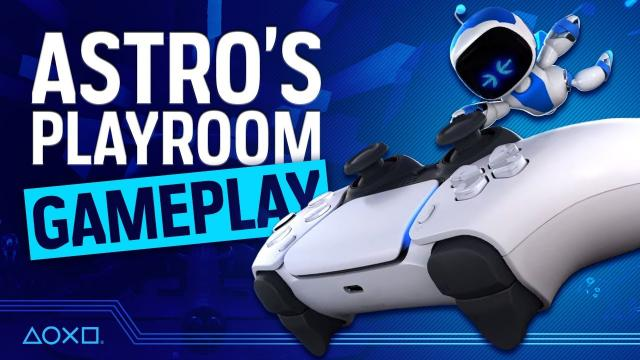 Astro's Playroom: Our First PS5 Hands On!