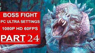 The Witcher 3 Blood And Wine Gameplay Walkthrough Part 24 [1080p HD 60FPS PC ULTRA] - BOSS FIGHT