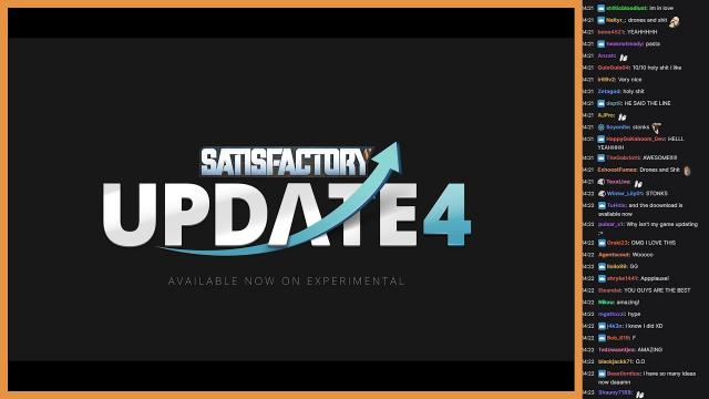 (Throwback) Update 4 Patch Notes reveal with chat reaction