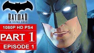 BATMAN Telltale EPISODE 1 Gameplay Walkthrough Part 1 [1080p] No Commentary (BATMAN Telltale Series)