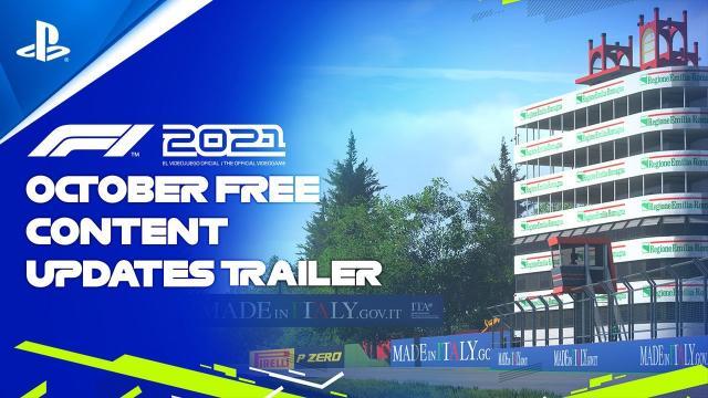 F1 2021 - October Free Content   PS5, PS4