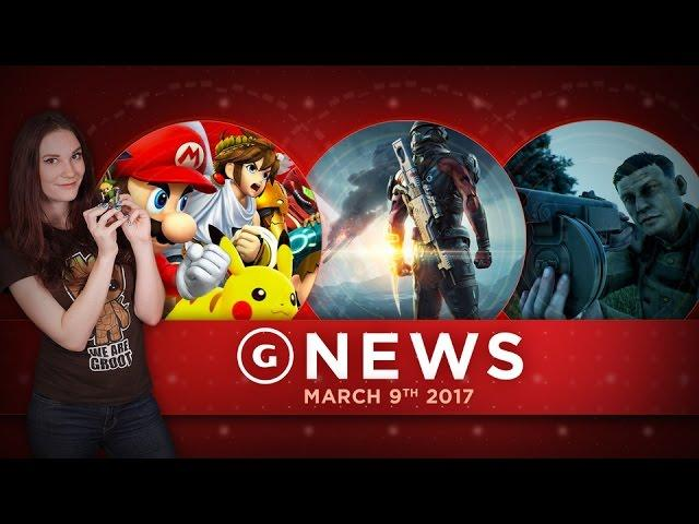 Smash Bros. For Switch; Mass Effect: Andromeda Trophies Leaked! - GS Daily News