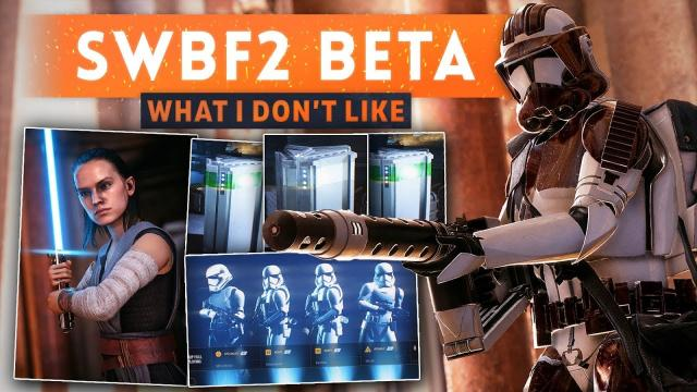 ► THINGS I DON'T LIKE ABOUT STAR WARS BATTLEFRONT 2 BETA (Feedback & Possible Solutions)