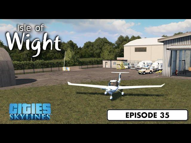 Rural Airfield - Cities: Skylines: Isle of Wight - 35