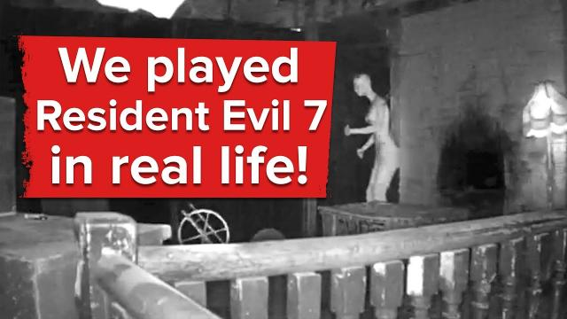 We played Resident Evil 7 in real life and it was horrible