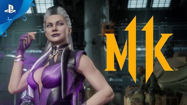 Mortal Kombat 11 - Kombat Pack: Sindel Gameplay Trailer | PS4
