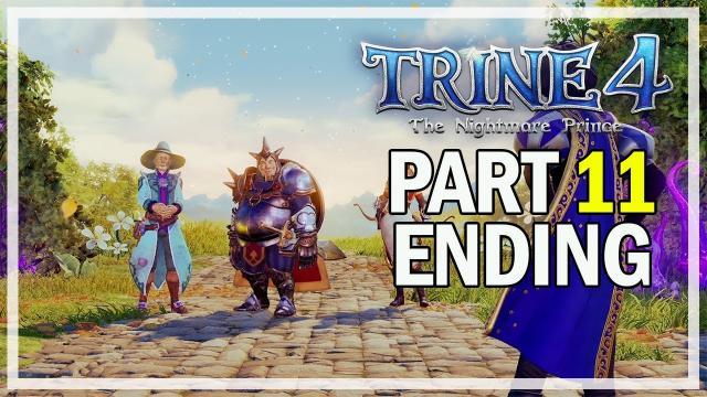 Trine 4 The Nightmare Prince Multiplayer Walkthrough Part 11 - Ending & Final Boss