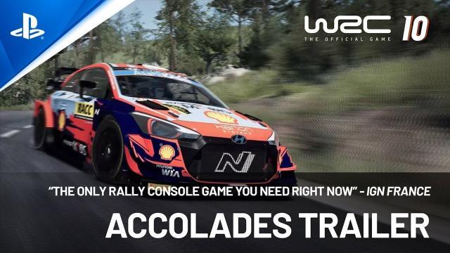 WRC 10 - Accolades Trailer   PS5, PS4