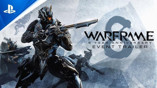 Warframe - 8 Year Anniversary Trailer | PS5, PS4