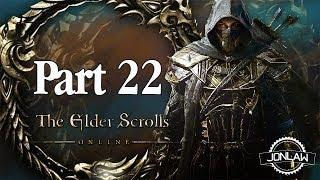 The Elder Scrolls Online Walkthrough - Part 22 FATE OF A FRIEND - Gameplay&Commentary