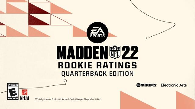 Madden 22 | Rookie Ratings Reveal: QBs