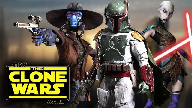Star Wars The Clone Wars TV Show - Characters We Want to See Return! Cad Bane, Ventress, Boba Fett!