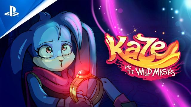 Kaze and the Wild Masks - Story Trailer | PS4