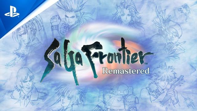 SaGa Frontier Remastered - Gameplay Launch Trailer   PS4