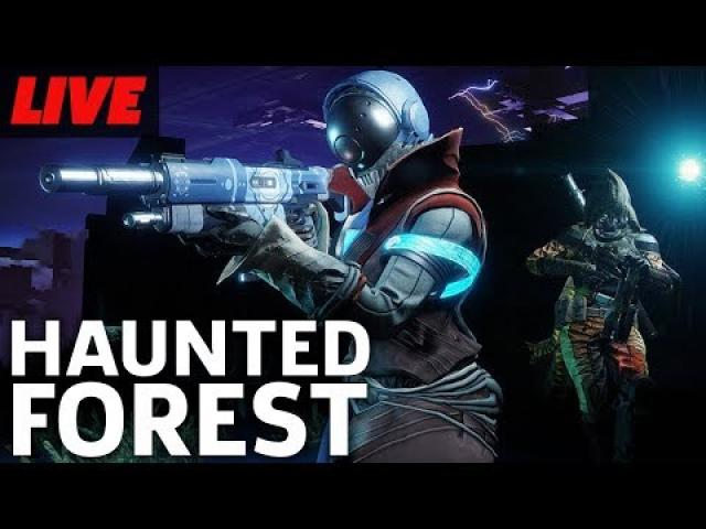 Destiny 2: Forsaken's Festival Of The Lost Event With The Haunted Forest
