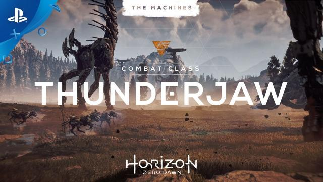 Horizon Zero Dawn - The Machines: Thunderjaw | PS4