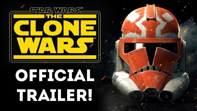 Star Wars The Clone Wars OFFICIAL TRAILER! NEW EPISODES! The Clone Wars Animated TV Series Returns!