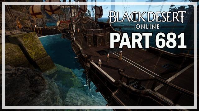 SAILING - Dark Knight Let's Play Part 681 - Black Desert Online