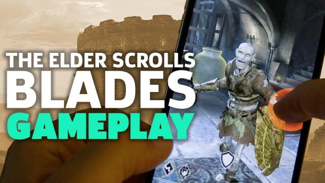 The Elder Scrolls: Blades Gameplay