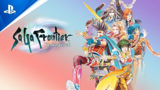 SaGa Frontier Remastered - Gameplay Trailer   PS4