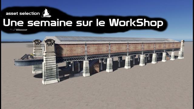 Cities Skylines : Une semaine sur le WorkShop  (22 09)