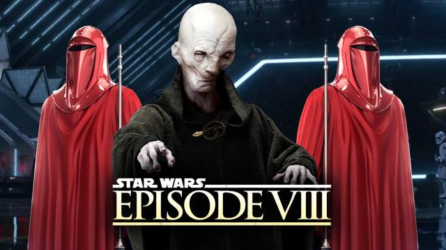 Star Wars Episode 8 The Last Jedi - NEW SNOKE DETAILS! His Bodyguards and Kylo Ren's MEGA DESTROYER!