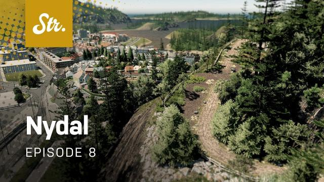Scenic Park — Cities Skylines: Nydal — EP 8