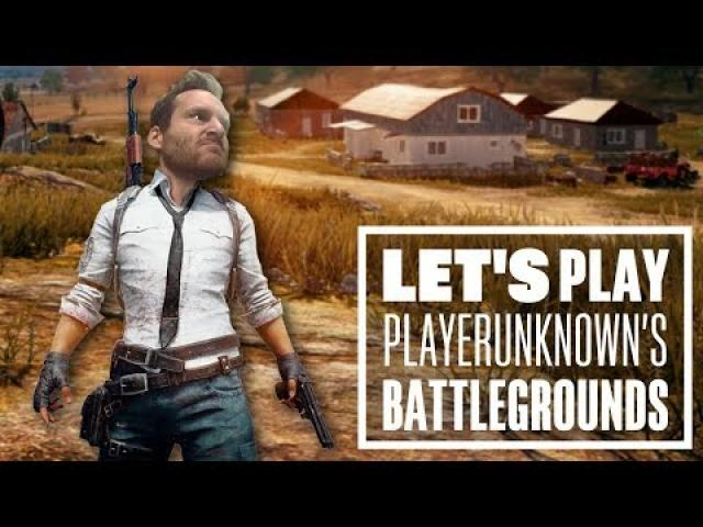 Let's Play PUBG gameplay with Ian - SURPRISE SOLO!