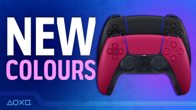 New DualSense Wireless Controller Colours - Our First Look!