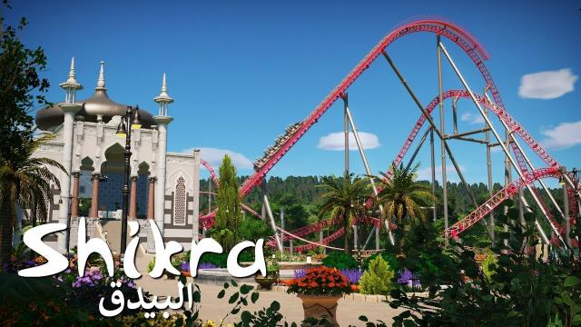 Planet Coaster - Shikra (Part 2) - Station Building & Persian Garden