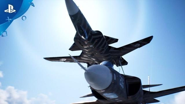 Ace Combat 7: Skies Unknown - Season Pass: SP Mission Trailer | PS4, PS VR