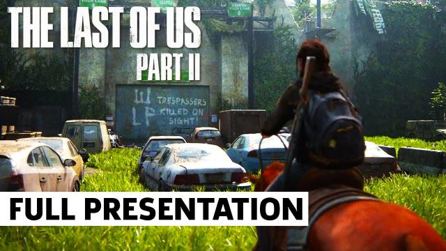 The Last of Us Part II - FULL 4K Gameplay Presentation | PlayStation State of Play