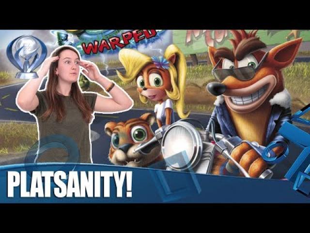 Crash Bandicoot Warped - PlatiMonday