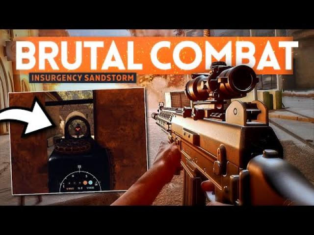 HARDCORE TACTICAL SHOOTER! - Insurgency Sandstorm
