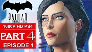 BATMAN Telltale EPISODE 1 Gameplay Walkthrough Part 4 [1080p] No Commentary (BATMAN Telltale Series)