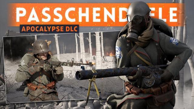 ➤ PASSCHENDAELE MAP FIRST LOOK + IMPRESSIONS! - Battlefield 1 Apocalypse DLC Gameplay