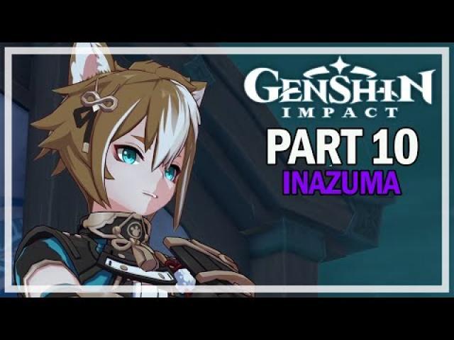 Genshin Impact - Inazuma Let's Play Part 10 - Electro Archon