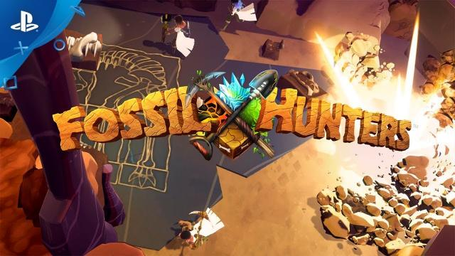 Fossil Hunters - Gameplay Trailer | PS4