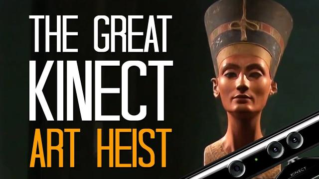 The Great Kinect Art Heist - Here's A Thing