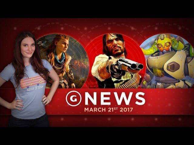 New Overwatch Character Arrives & Major Horizon Zero Dawn Update! - GS Daily News