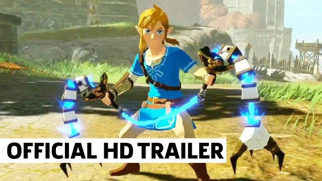 Hyrule Warriors Age of Calamity Expansion Pass Trailer | Nintendo E3 2021