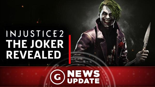 Injustice 2's Joker Confirmed With New Gameplay - GS News Update